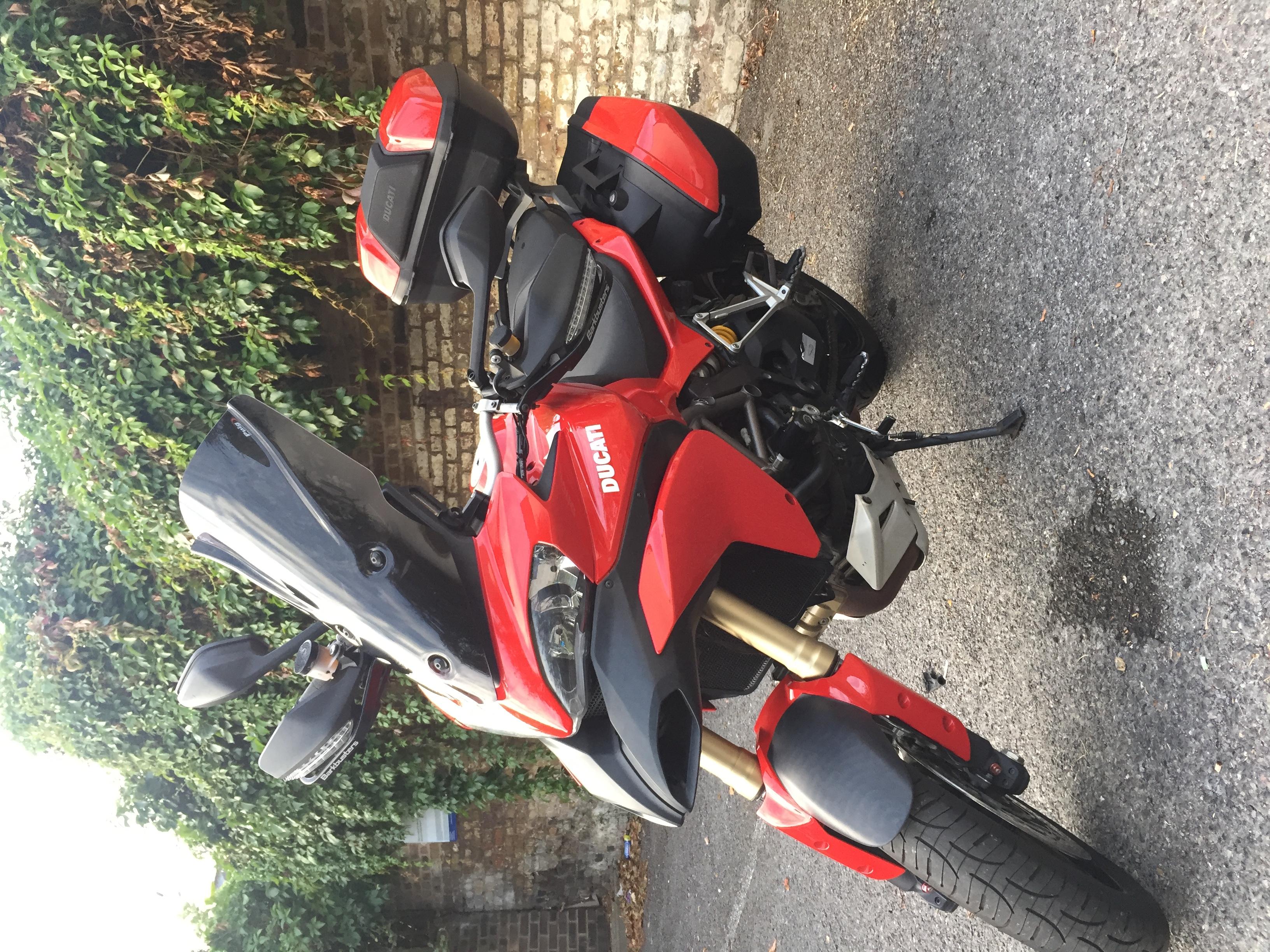Sold - Ducati Multistrada 1200s Touring  Termignoni  Abs  Ducati Top Box